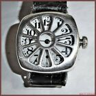 STUNNING WALTHAM STERLING SILVER TRENCH WATCH WITH INTEGRATED SHRAPNEL GUARD WWI