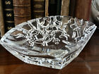 Thomas Bastide crystal glass sculpture Vide poche catchall tray bowl art design