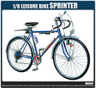 Academy Vehicle 1/8 Scale Hobby Plastic Model Kit Leisure Bike Sprinter #15603