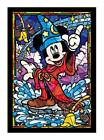 TENYO Puzzle DSG-266-747 Stained Art Disney Mickey Mouse Stained Glass 266pcs