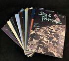 Sky  Telescope Magazine 1986 Full Year 12 Monthly issues Vintage Astronomy