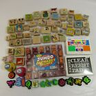 Huge Lot of 75 Rubber Stamps Mounted Scrapbooking Card Making Paper Crafts