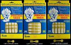 1000 Rhino Tyvek Gold Adhesive Dumbbell Jewelry Labeling Price Tags - 3 Styles