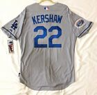 MAJESTIC AUTHENTIC, 48 XL LOS ANGELES DODGERS CLAYTON KERSHAW, Cool Base Jersey