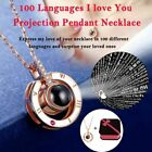 I LOVE YOU in 100 Languages Pendant Necklace Great Gift for Girlfriend Mother US