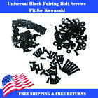 Complete Black Fairing Bolt Kit Fit for KAWASAKI Ninja ZX6R ZX-10R 250R ZX14R