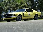 1970 Ford Mustang Boss 302 Tribute 1970 Ford Mustang Boss 302 Tribute 89048 Miles Yellow Fastback 4 Speed Manual