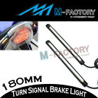 18cm Rear Footpegs Brake Indicator LED Strip Light For B-King SFV 650 S Gladius