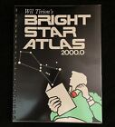Bright Star Atlas 20000 by Wil Tirion and Brian Skiff Astronomy Book