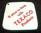 Vintage Texaco Farm Products Hot Heat Pan Pad Advertising Promotional Kitchen
