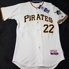 Authentic Majestic 52 2XL, PITTSBURGH PIRATES ANDREW McCUTCHEN COOL BASE Jersey