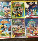 Lot of 6 Mickey Mouse Clubhouse DVDs Great Outdoors Clubhouse Hunt More