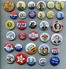 AMOCO USA Presidential Election Pins Reproductions 32 diff. 1972 7/8
