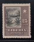 Liberia  121b Inverted Center Native Hut 1909 Issue