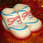 TELEFLORA PORCELAIN BABY SHOES vintage planter vase home decor sneakers Taiwan