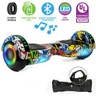 New 65 Off Road Hoverboard Electric Self Balancing Scooter LED Sidelights UL