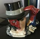 Royal Doulton SIGNED Large Phantom of the Opera D7017 Character Toby Mug Mint