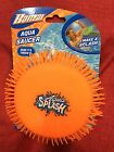Banzai AQUA SAUCER Kids Fun Summer Spring Pool Beach Toy SOAK  THROW IT Orange