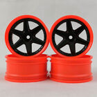 4pcs 1/10 Scale RC Car On Road Drift Touring Plastic Wheels Rims Hobby Model