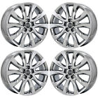 19 MAZDA CX 5 PVD CHROME WHEELS RIMS FACTORY OEM SET 64955