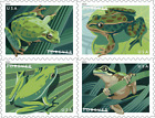 5395 5398a 2019 Frogs Booklet block 4 MNH