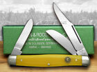 HEN  ROOSTER AND Smooth Yellow Celluloid Stockman Pocket Knives 173S Y Knife