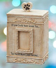 Pet Memorial Urn Small Dog Cat Personalized Photo Box Cremation Ashes Keepsake