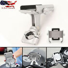 Chrome Motorcycle Cell Phone Holder for Yamaha V-Star 650 950 1100 1300 Classic