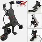 Cell Phone Holder Mount USB Charger for Suzuki Boulevard C50 C90 C109R M109R M50