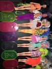 Vintage 1980s Jem And The Holograms HUGE lot 14 Dolls clothing accessory Hasbro