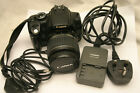 Canon EOS 350D 80MP Digital SLR Camera Black Kit with 18 55mm EFS lens