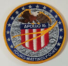 Apollo 16 Young Mattingly Duke Mission PATCH Hallmarked LION Brothers NASA