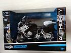 MAISTO 32306 BMW R 1200 RT POLICE MOTORCYCLE 1/18 CALIFORNIA HIGHWAY PATROL NEW