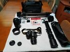 Nikon D5500 Digital SLR Camera 18 55mm Lens 55 300 Lens 500mm f80 Lens