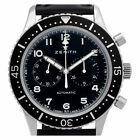 Zenith Cronometre 0442/1000 Stainless Steel Black dial 43mm Automatic watch