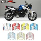 For BMW F800R#Style 2 Rim Decal Cool wheel stickers motorcycle wheel sticker