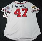 Authentic Majestic 48 XL ATLANTA BRAVES, TOM GLAVINE, COOL BASE ON FIELD Jersey