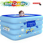 Inflatable Baby Square Swimming Pool For Child Shower Large Pool Kids Water