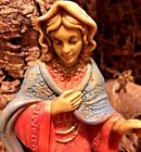 Fontanini Nativity Stable Mary Joseph Baby Jesus Animals Made in Italy