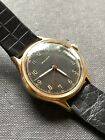 1940s Mulco Gilt Dial Vintage Swiss Made Mens Watch 34mm