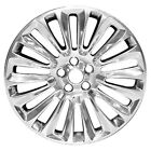 19x8 18 Spoke Refurbished Lincoln Aluminum Wheel Full Polished 03954