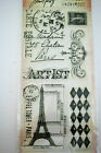 Tim Holtz Visual Artistry Clear Stamps Stampers Anonymous French Market