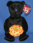 TY HAUNTING the HALLOWEEN BEAR BEANIE BABY - MINT with MINT TAGS