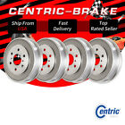 Front  Rear Brake Drums Set of 4 For 1960 1962 Jeep CJ5 10inch Drum