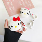 Cute Cartoon Hello kitty soft Earphone bag Cover for Apple Airpods Charging Case