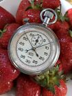1950/60s UMF Ruhla Rattrapante Stopwatch German Made 9 Jewels 65C