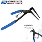 90° Bending Circlips Snap Ring Grip Plier Internal Ring Remover Multitool Pliers