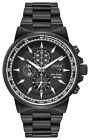 CITIZEN CA0297-52W Marvel Black Panther Men's Watch Black Stainless Steel