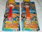 Set Of 2 Pez Disney Meet Robinsons Series Dispensers Lewis & Bowler Hat Guy ~ D5