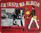 THE BIG DAY JOUR DE FTE Original 1951 Large Portuguese Lobby Card Jacques Tati